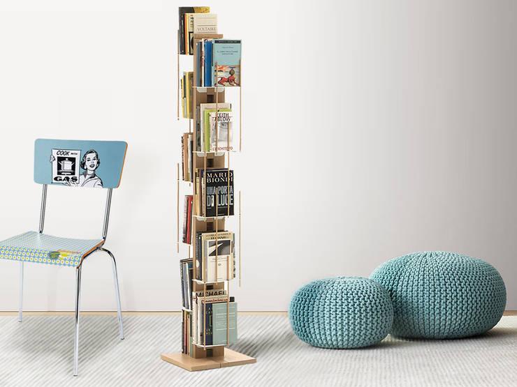 в современный. Автор – Le zie di Milano, Модерн Твердая древесина Многоцветный