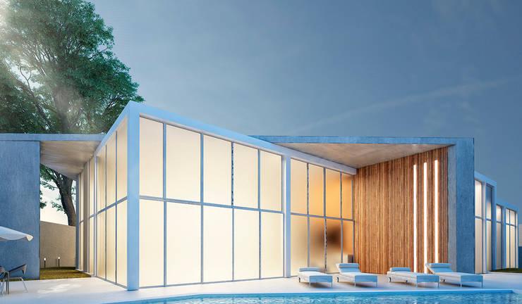 Villa La Milagrosa : Anexos de estilo  por NOGARQ C.A.