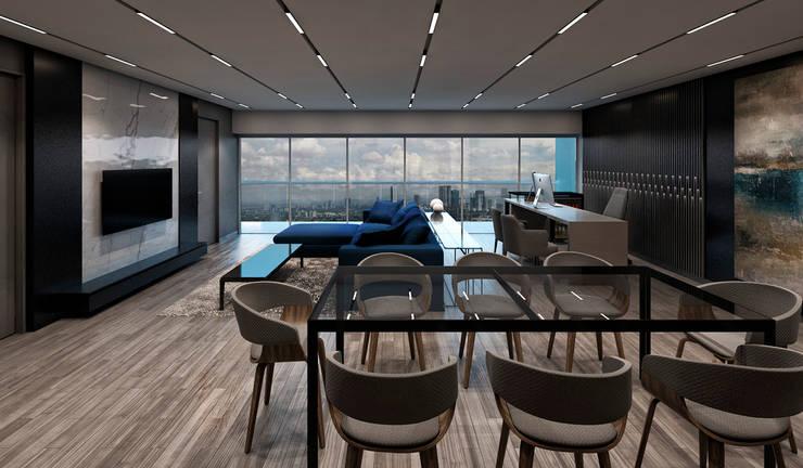 Modern conservatory by NOGARQ C.A. Modern
