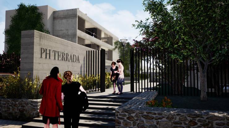 PH Terrada II: Casas de estilo  por Gustavo Avila, arquitecto,