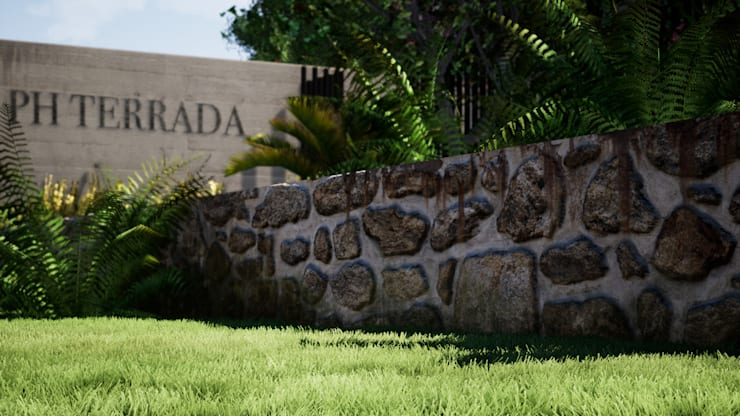 PH Terrada II: Condominios de estilo  por Gustavo Avila, arquitecto,