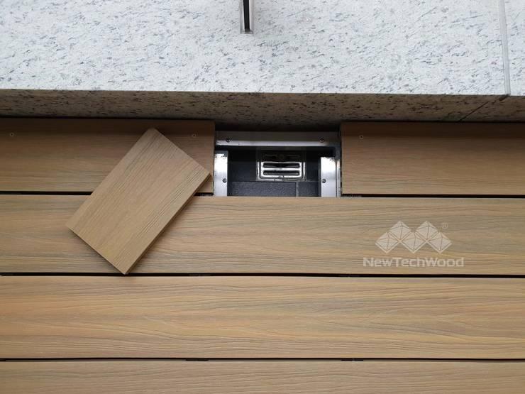 Terrazas de estilo  de 新綠境實業有限公司, Clásico Compuestos de madera y plástico