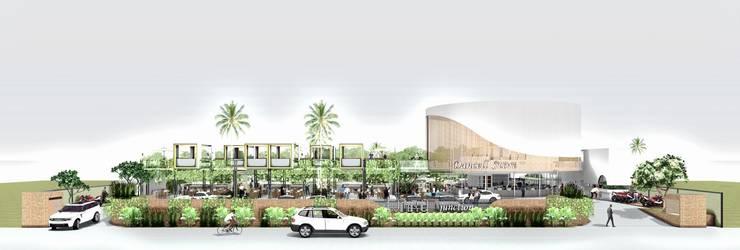 Front View:  Pusat Perbelanjaan by A108 Designstudio