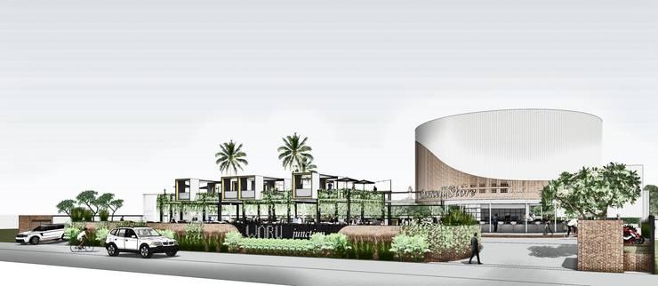Front View 3:  Pusat Perbelanjaan by A108 Designstudio