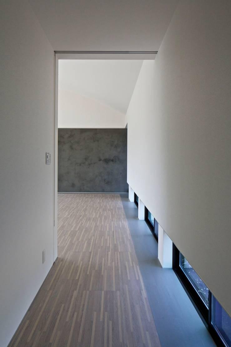 Hành lang theo JWA,Jun Watanabe & Associates, Hiện đại Gỗ Wood effect