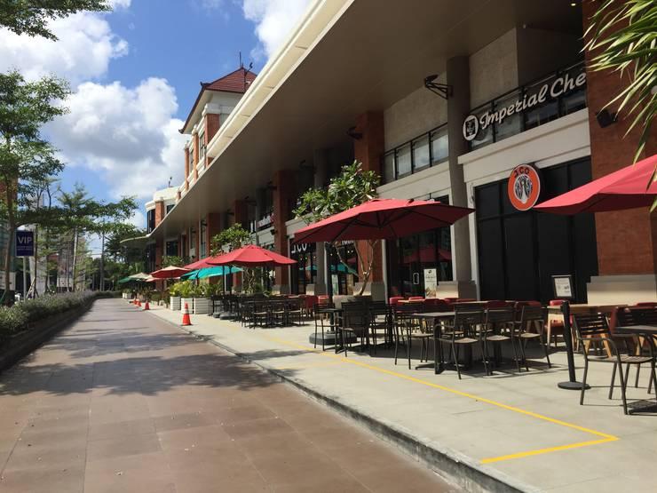Pelataran Cafe :  Restoran by Bobos Design