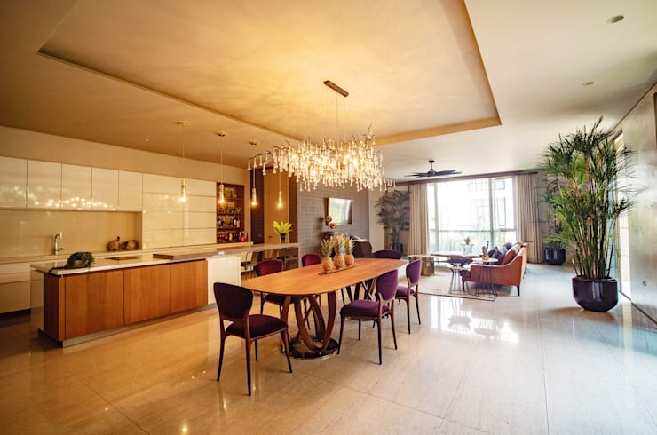 Ruang Makan :  Ruang Makan by Bobos Design