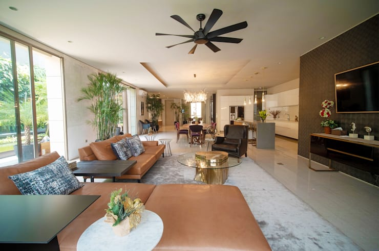Ruang Keluarga :  Ruang Keluarga by Bobos Design