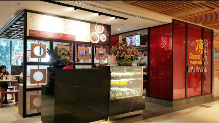 Meja Resepsi :  Restoran by Bobos Design