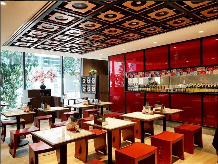 Area Makan :  Restoran by Bobos Design