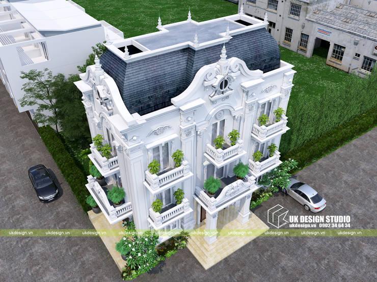 Biệt thự cổ điển:  Biệt thự by UK DESIGN STUDIO - KIẾN TRÚC UK
