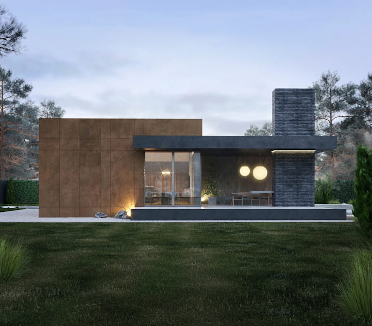Casas pequenas  por Need Design