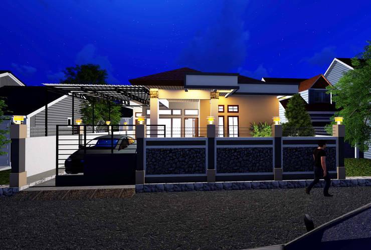 Tampak Depan (Malam) :   by Adonara Design