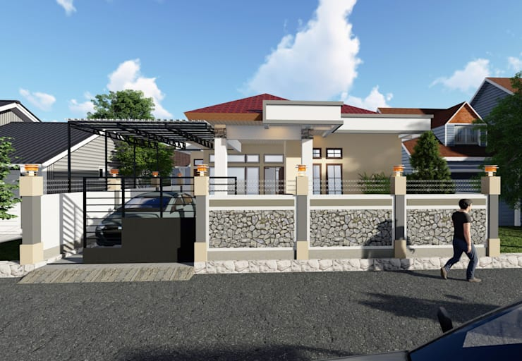 Tampak Depan (Siang) :   by Adonara Design