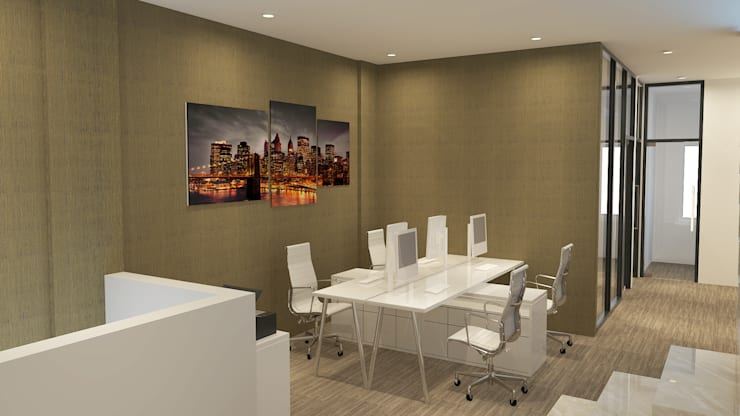 Office:  Kantor & toko by Arsitekpedia