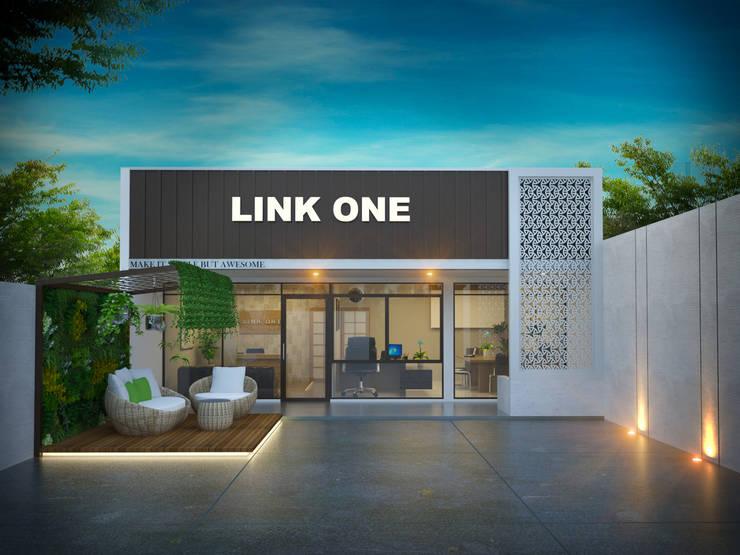 Fasad alt 1:  Kantor & toko by Arsitekpedia
