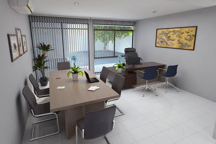 Office Kursus Bahasa Jepang:  Kantor & toko by Arsitekpedia
