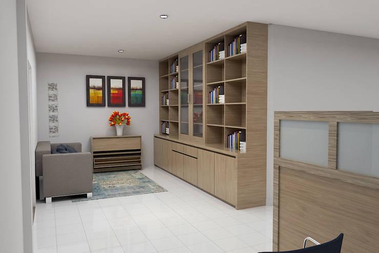 Perpustakaan :  Kantor & toko by Arsitekpedia