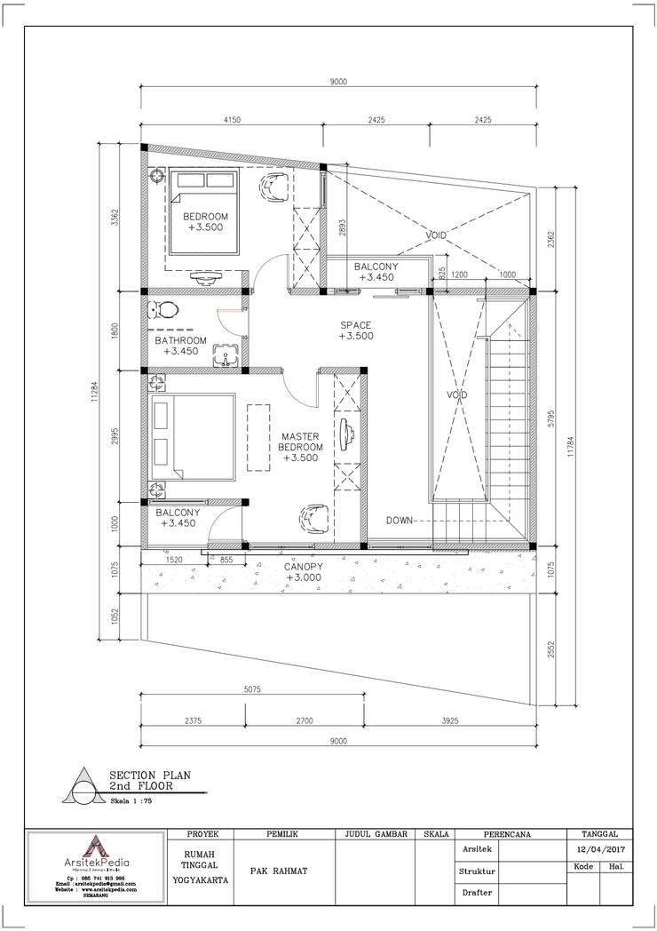 Pak Rahmat Residence:   by Arsitekpedia