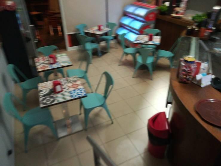 Pastelaria Toscana-Algarve 2008: Espaços de restauração  por Atelier  Ana Leonor Rocha