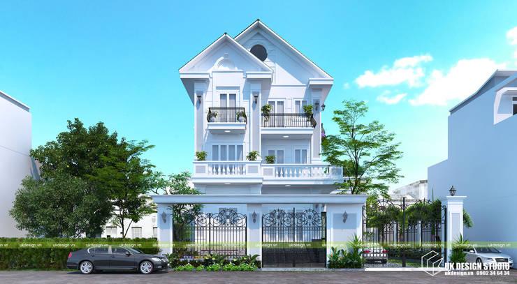 Villa de style  par UK DESIGN STUDIO - KIẾN TRÚC UK