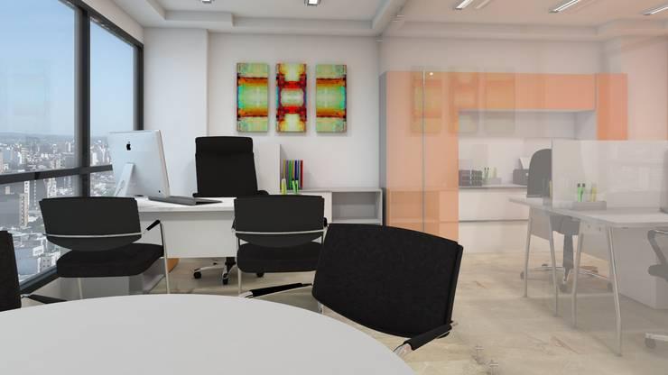 Oficina de Gerente. :  de estilo  por Pérez | Ferré  Asociados