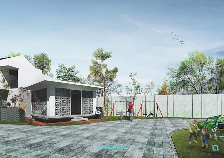 Mushola & Playground / Fasum:  Taman by Lukemala Creative Studio