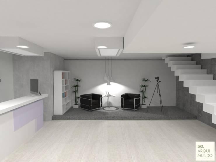 Espacio de trabajo compartido:  de estilo  por Arquimundo 3g.