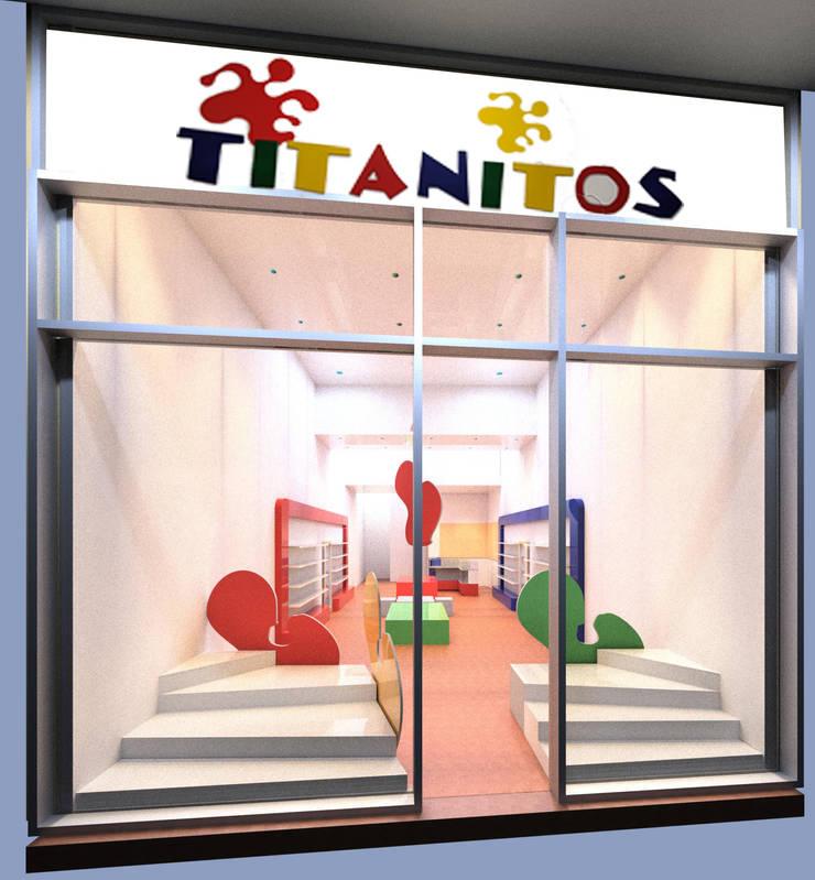 Propuesta de diseño presentada al cliente :  de estilo  por Faerman Stands y Asoc S.R.L. - Arquitectos - Rosario