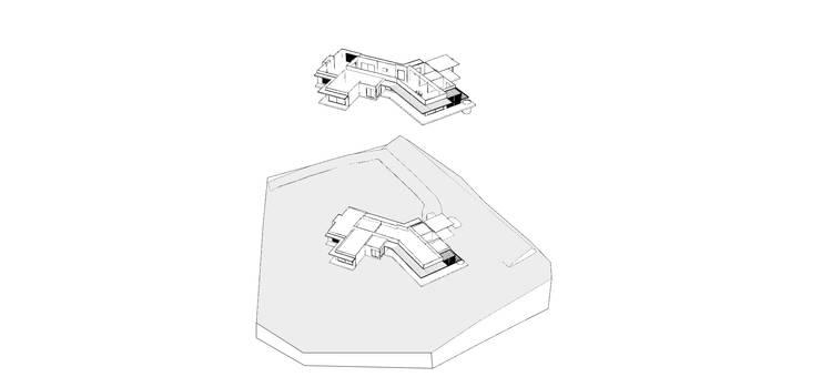 CASA PILOTO. Vivienda unifamiliar campestre.:  de estilo  por Andrés Hincapíe Arquitectos  A H A, Moderno