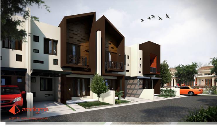 Rumah Arjuna:  Rumah tinggal  by aradigma