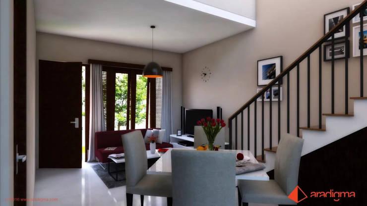 Rumah Arjuna:  Ruang Keluarga by aradigma