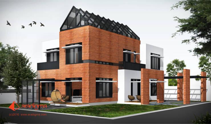 Rumah Merah:  Rumah tinggal  by aradigma