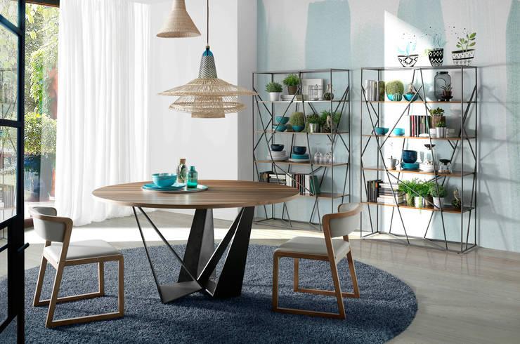 Comedor moderno y de diseño de la colección Atelier by Angel Cerdá: Comedor de estilo  de ANGEL CERDA