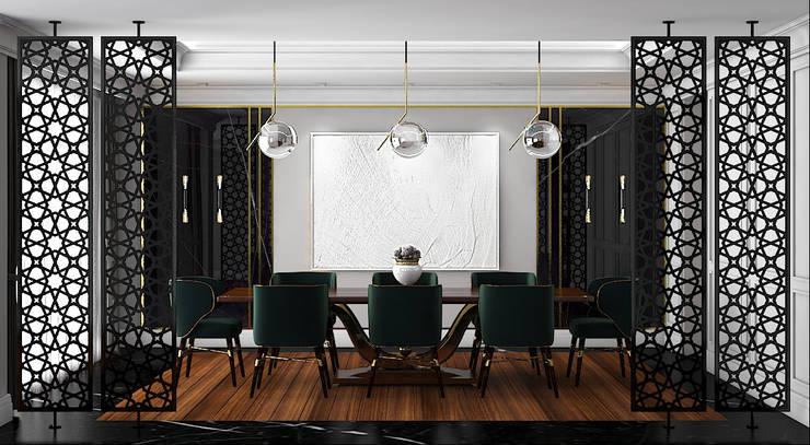 FA - Fehmi Akpınar İç Mimarlık  – Mekan tasarım:  tarz Yemek Odası