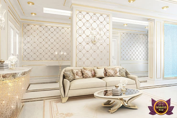 UNIQUE LUXURIOUS INTERIOR FOR FAMILY:   by Luxury Antonovich Design