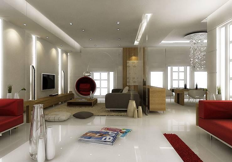 ŞEBNEM MIZRAK  – Bodrum Ev Tasarımı / Koridor:  tarz Koridor ve Hol
