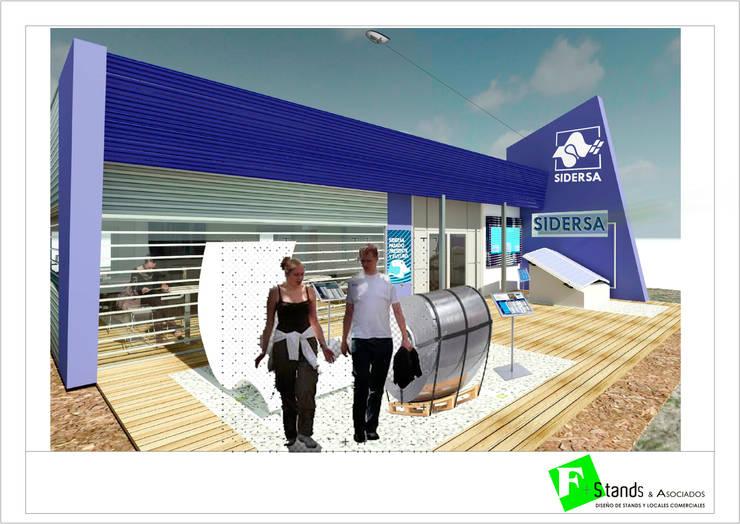 Proyectos nuevos :  de estilo  por Faerman Stands y Asoc S.R.L. - Arquitectos - Rosario