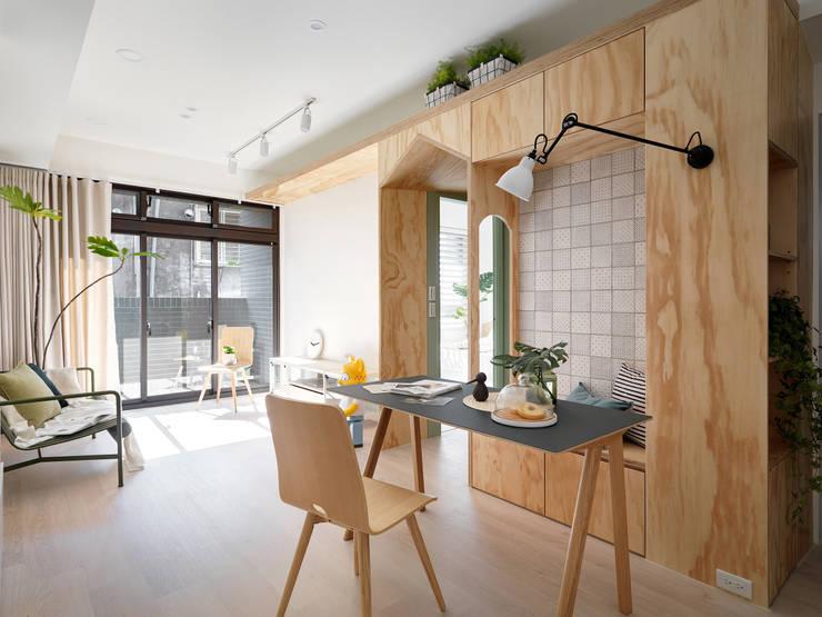 森木木:  餐廳 by 寓子設計