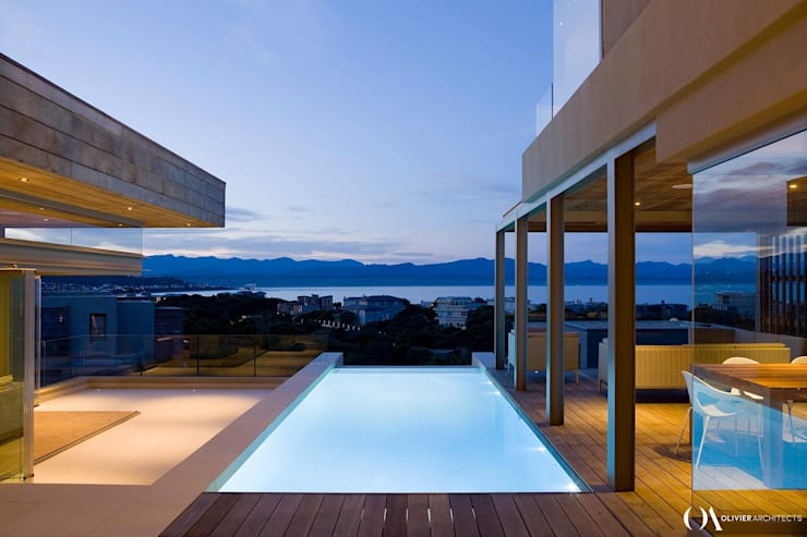 L \ HOUSE \\ Plettenberg Bay \\ Olivier Architects:  Pool by Olivier Architects