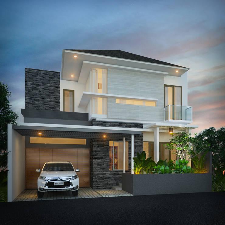 Private House:  Rumah by Arsitekpedia