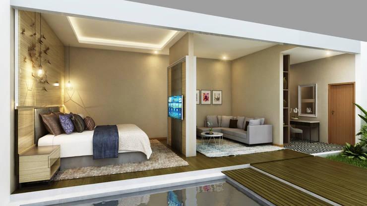 Private House:  Kamar Tidur by Arsitekpedia