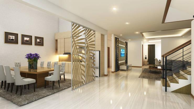 Private House:  Koridor dan lorong by Arsitekpedia