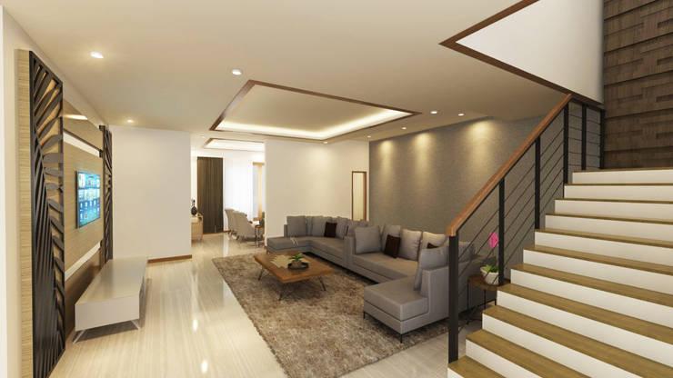 Private House:  Ruang Keluarga by Arsitekpedia