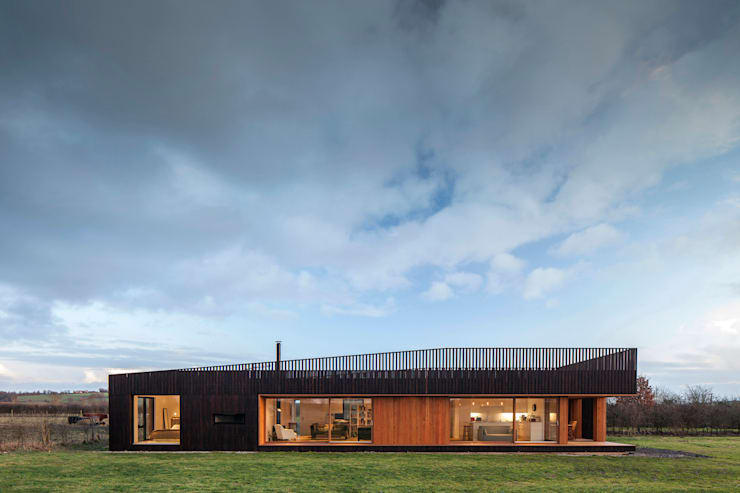 Wooden houses by Ecospace Italia srl
