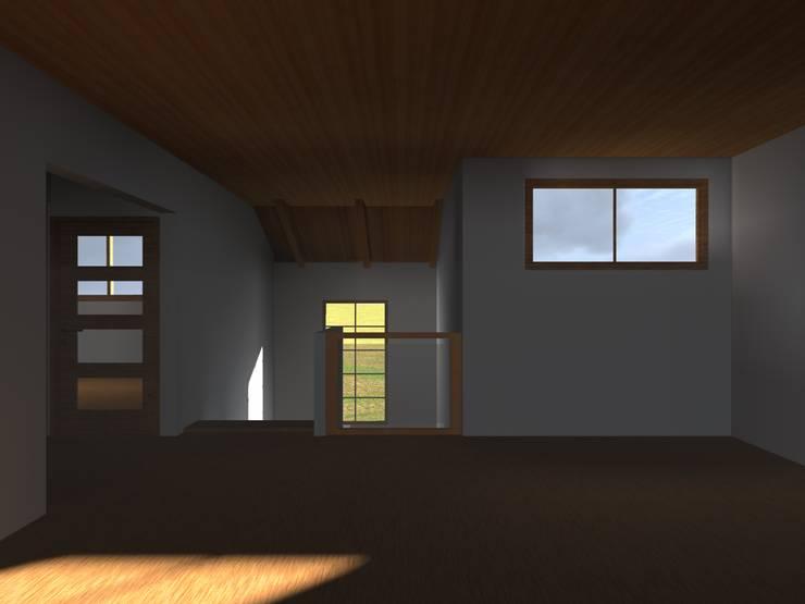 Oficinas de estilo  por Vicente Espinoza M. - Arquitecto