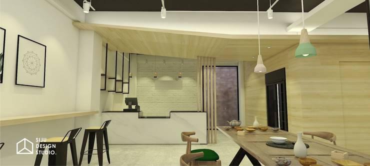 商業空間:  辦公空間與店舖 by 室爵空間設計