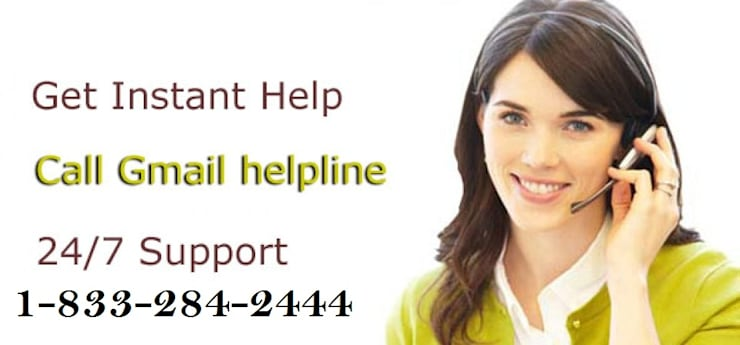 Call 1-833-284-2444 Gmail Support Number For Resolving Errors:   by anabelsmith.988