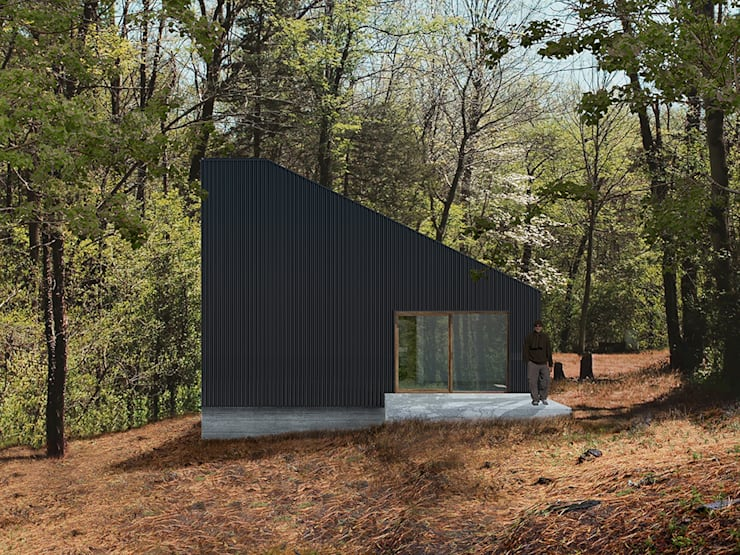 exterior: Casas de estilo  por mutarestudio Arquitectura