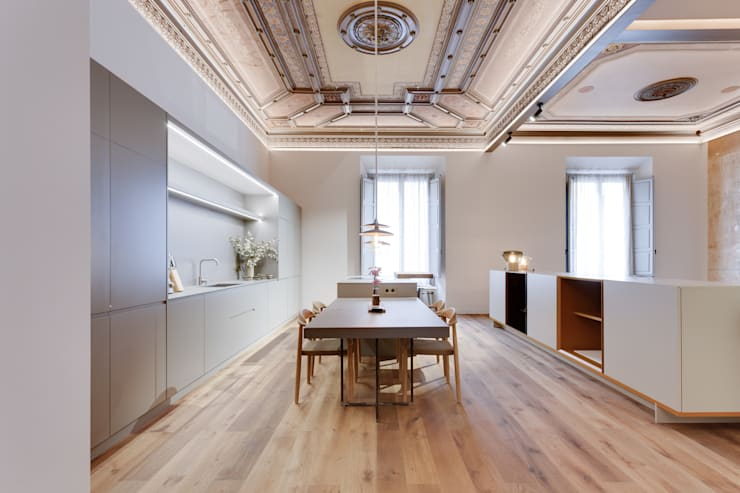 Lara Pujol  |  Interiorismo & Proyectos de diseñoが手掛けたダイニング